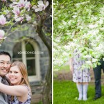 Stephanie & Charles: University of Toronto Engagement Photos