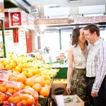 Becky & Andrew: St.Lawrence Market Engagement Session