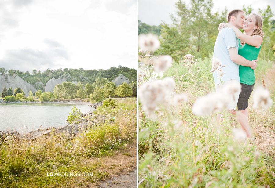 Related Posts Heather Thomas Scarborough Bluffs Engagement Photos