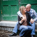 Shannon & Mark: Distillery District Engagement Session