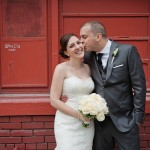Rebecca & Mark: Wedding at the Berkeley Church Field House