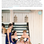 Heather & James' Wedding at The Berkeley Church Featured on Style Me Pretty!