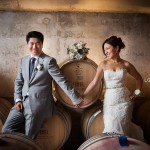 Peninsula Ridge Winery Wedding: Frances & Kai