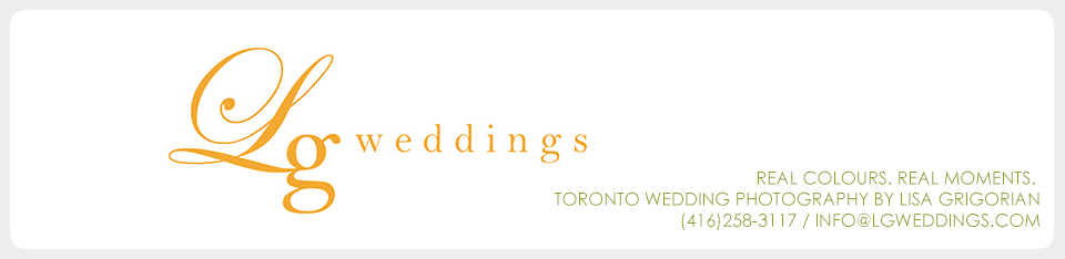 Lg Weddings – Toronto Wedding Photography Blog logo